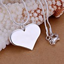 Buy Women's Pendant Necklaces Sterling Silver Fashion Jewelry Wedding Party Daily Casual 1pc