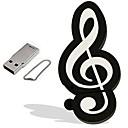 hesapli USB Flaş Sürücüler-16GB USB flash sürücü usb diski USB 2.0 Plastik Müzik Enstrimanlı Karikatür