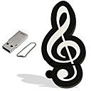 ieftine USB Flash Drives-16GB Flash Drive USB usb disc USB 2.0 Plastic Instrumente Muzicale Desen animat