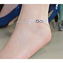 hesapli Küpeler-Ayak bileziği Vücut Zinciri / Belly Chain - Kurdeleli Çift katman Uyumluluk Parti Günlük Kadın's