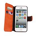 رخيصةأون ساعات النساء-غطاء من أجل أيفون 5 / Apple iPhone 8 Plus / iPhone 8 / iPhone SE / 5s حامل البطاقات / مع حامل / قلب غطاء كامل للجسم لون سادة قاسي جلد PU