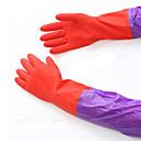 hesapli Çocuk Aktivite Setleri-50 cm uzun kollu kauçuk lateks eldiven mutfak yıkama bulaşık su geçirmez temizlik