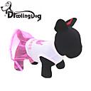 رخيصةأون أقراط-قط كلب الفساتين ملابس الكلاب تيجان و أميرات زهري قطن كوستيوم من أجل الصيف
