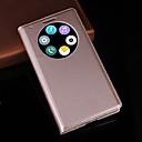 hesapli LG İçin Ekran Koruyucuları-Pouzdro Uyumluluk LG G3 LG LG Kılıf Satandlı Pencereli Tam Kaplama Kılıf Tek Renk Sert PU Deri için