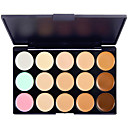 cheap Makeup & Nail Care-15 colors Concealer / Contour Wet / Matte / Shimmer Cream Whitening / Fast Dry / Coverage Body / Face