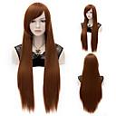 cheap Makeup & Nail Care-Synthetic Wig Straight Synthetic Hair Wig Capless Medium Auburn