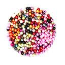 זול עגילים-תכשיטים DIY 2000 יח חרוזים פלסטי עגול Round Shape חָרוּז 0.4 cm עשה זאת בעצמך שרשראות צמידים