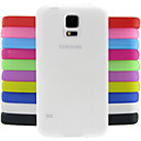Χαμηλού Κόστους Θήκες / Καλύμματα Galaxy S Series-tok Για Samsung Galaxy Samsung Galaxy Θήκη Ανθεκτική σε πτώσεις Πίσω Κάλυμμα Συμπαγές Χρώμα Σιλικόνη για S5 Mini