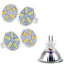 preiswerte LED-Kugelbirnen-400-500 lm LED Spot Lampen MR11 15 LED-Perlen SMD 5730 Warmes Weiß / Kühles Weiß 12 V