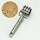 hesapli Pişirme Aletleri ve Kap-Kacaklar-paslanmaz biftek ekmek pizza hamur pasta deliği docker rulo ekmek