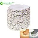 hesapli LED Şerit Işıklar-SENCART 2m Esnek LED Şerit Işıklar 240 LED'ler 3528 SMD Sıcak Beyaz / Beyaz Uzaktan Kontrol / Kesilebilir / Kısılabilir 12 V / Bağlanabilir / Araçlar İçin Uygun / Kendinden Yapışkanlı