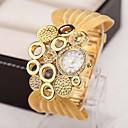 ieftine Ceasuri Damă-Pentru femei Ceasuri de lux Ceas colier Diamond Watch Quartz Multicolor 30 m imitație de diamant Analog femei Charm Vintage Modă Elegant - Argintiu Auriu Maro-Auriu