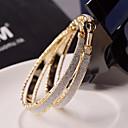 voordelige Oorbellen-Dames Ring oorbellen - Statement, Bruids, Festival / Feestdagen Zilver / Gouden Voor Bruiloft / Feest / Speciale gelegenheden