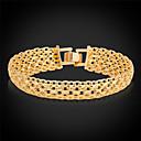 preiswerte Halsketten-Herrn Damen Ketten- & Glieder-Armbänder Vintage Armbänder - Platiert, vergoldet Armbänder Gold / Silber Für Hochzeit Party Alltag