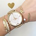 preiswerte Armbänder-Damen Armband-Uhr PU Band Charme / Modisch Schwarz / Khaki
