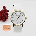 Χαμηλού Κόστους Εξατομικευμένα ρολόγια-Εξατομικευμένο δώρο Παρακολουθήστε, Αναλογικό Χαλαζίας Παρακολουθήστε With Μεταλλικό υπόθεση Υλικό Δέρμα Μπάντα Αντοχή στο νερό Βάθος