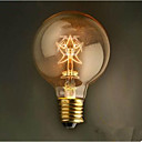 preiswerte Ausgefallene LED-Lichter-1pc 40 W E26 / E26 / E27 / E27 G80 2300 k 220 V / 220-240 V