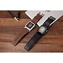 preiswerte Ringe-Uhrenarmband für Apple Watch Series 4/3/2/1 Apple Klassische Schnalle Echtes Leder Handschlaufe