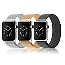 hesapli Mutfak ve Yemek Odası-Watch Band için Apple Watch Series 4/3/2/1 Apple Milan Döngüsü Paslanmaz Çelik Bilek Askısı