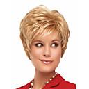 preiswerte Make-up & Nagelpflege-Synthetische Perücken Wellen Blond Synthetische Haare Blond Perücke Damen Kurz Kappenlos Blondine