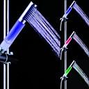 hesapli LED Duş Başlıkları-LED Duşluk Başı Işığı Plastik