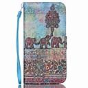 رخيصةأون حافظات / جرابات هواتف جالكسي A-غطاء من أجل Samsung Galaxy S6 edge plus / S6 edge / S6 محفظة / حامل البطاقات / مع حامل غطاء كامل للجسم فيل جلد PU