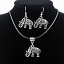 cheap Bracelets-Men's / Women's Jewelry Set Earrings / Necklace - Silver For Daily / Casual
