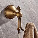 hesapli Banyo Gereçleri-Bornoz Askısı Yüksek kalite Antik Pirinç 1 parça - Otel banyo