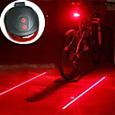 cheap Bike Lights-Bike Light / Lanterns & Tent Lights / Rear Bike Light Laser / LED Bike Light - Cycling Impact Resistant, LED Light, Easy Carrying AAA 400 lm Battery Camping / Hiking / Caving / Cycling / Bike