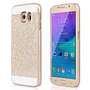 hesapli Galaxy S Serisi Kılıfları / Kapakları-Pouzdro Uyumluluk Samsung Galaxy Samsung Galaxy Kılıf Şoka Dayanıklı Arka Kapak Işıltılı Parlak PC için S6 edge plus S6 edge S6 S5 S4 S3