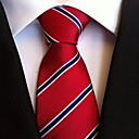 رخيصةأون خزانة المكياج و المجوهرات-ربطة العنق مخطط رجالي حفلة / عمل / أساسي