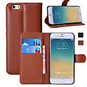 cheap iPhone Cases-Case For Apple iPhone 6 Plus / iPhone 6 Wallet / Card Holder / with Stand Full Body Cases Solid Colored Hard PU Leather for iPhone 6s Plus / iPhone 6s / iPhone 6 Plus