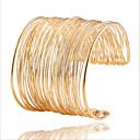 hesapli Kulak Kıkırdağı Piercingleri-Kadın's Halhallar - İfade Bilezikler Altın Uyumluluk Düğün Parti Günlük