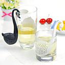ieftine Drinking Tools-silicon puțin Swan filtru de ceai