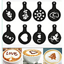 hesapli Mutfak ve Yemek Odası-Kahve yenilik fantezi kahve çelenk kalıp baskı kalıbı 8pcs