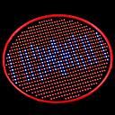 hesapli LED Spot Işıkları-1000 lm Büyüyen Ampuller 800 led Mavi Kırmızı AC 85-265V