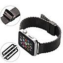 hesapli iPhone Kılıfları-Watch Band için Apple Watch Series 3 / 2 / 1 Apple Milan Döngüsü Paslanmaz Çelik Bilek Askısı