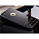 hesapli iPad Kılıfları/Kapakları-Pouzdro Uyumluluk Apple iPhone 6 Plus / iPhone 6 Kaplama / Ayna Arka Kapak Solid Sert Metal için