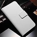 저렴한 갤럭시 J 시리즈 케이스 / 커버-케이스 제품 Samsung Galaxy Samsung Galaxy Note 지갑 / 카드 홀더 / 스탠드 전체 바디 케이스 솔리드 PU 가죽 용 Note 4