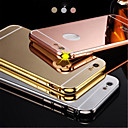 Buy Luxury Plated Aluminum Metal Frame+Mirror Acrylic Back Cover Shell Case IPhone6plus 5.5inch