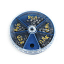 ieftine Alte Accesorii Pescuit-Cutie unelte Βαρίδι Pescuit Snaps & Articulațiile mobile Cutie de Plumb Lead Pescuit în General
