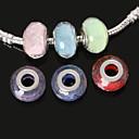hesapli Boncuklar ve Takı Yapımı-DIY Mücevherat 10pcs adet Reçine 4 5 6 7 8 Round Shape boncuk cm DIY Kolyeler Bilezikler