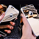 tanie Żarówki LED podtynkowe-Kılıf Na Apple Etui iPhone 5 iPhone 6 iPhone 6 Plus Galwanizowane Lustro Czarne etui Solid Color Twarde Akrylowy na iPhone 6s Plus iPhone