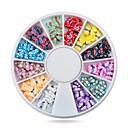 ieftine Artă Ștrasuri Colorate-1 pcs Bijuterie unghii Fruit Fimo Slices nail art pedichiura si manichiura Zilnic Fructe / Modă / Unghiul de bijuterii