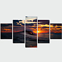 cheap Mac Cases & Mac Bags & Mac Sleeves-Print Rolled Canvas Prints - Landscape Traditional Modern Five Panels