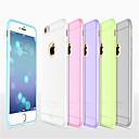 hesapli iPhone Kılıfları-HOCO Pouzdro Uyumluluk Apple iPhone 8 / iPhone 8 Plus / iPhone 6 Plus Ultra İnce / Buzlu / Yarı Saydam Arka Kapak Solid Yumuşak Silikon için iPhone 8 Plus / iPhone 8 / iPhone 6s Plus