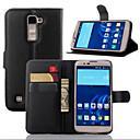 hesapli Kolyeler-Pouzdro Uyumluluk LG G2 LG G3 Diğer LG LG K10 LG K7 LG G4 LG Kılıf Kart Tutucu Cüzdan Satandlı Flip Tam Kaplama Kılıf Tek Renk Sert PU