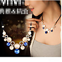 cheap Vehicle Consoles & Organizers-Women's Crystal Statement Necklace - Opal Ladies Green, Blue Necklace Jewelry For Party