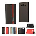 저렴한 갤럭시 J 시리즈 케이스 / 커버-케이스 제품 Samsung Galaxy 삼성 갤럭시 케이스 카드 홀더 / 스탠드 / 플립 전체 바디 케이스 솔리드 PU 가죽 용 On 5 / J7 / J5