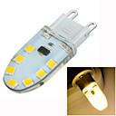 Χαμηλού Κόστους Φωτιστικά LED δυο ακίδων-200-300 lm G9 LED Φώτα με 2 pin Χωνευτή εγκατάσταση 14 leds SMD 2835 Με ροοστάτη Διακοσμητικό Θερμό Λευκό AC 220-240V